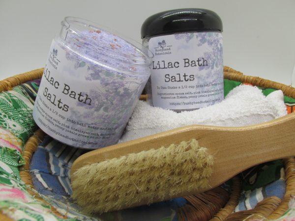 lilac bath salts