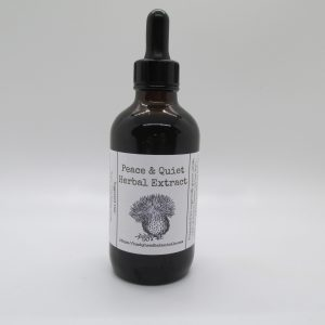peace and quiet tincture