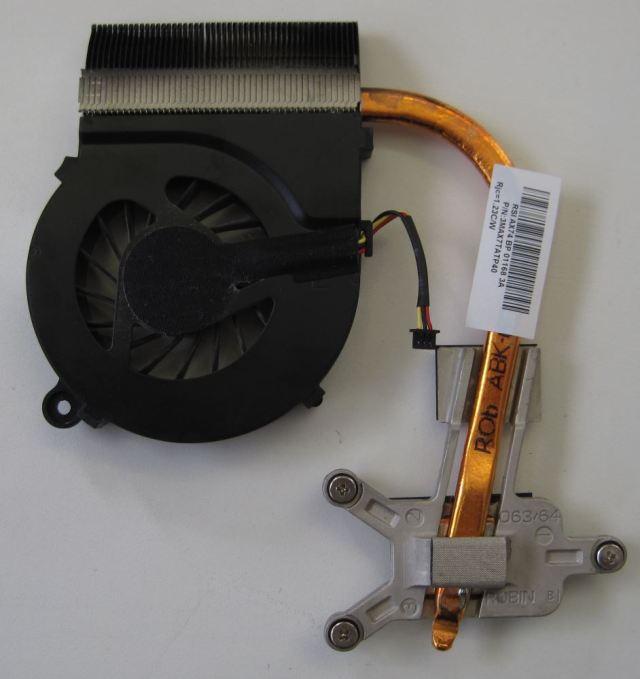 HP Compaq Presario CQ56 Heat sink and fan - top