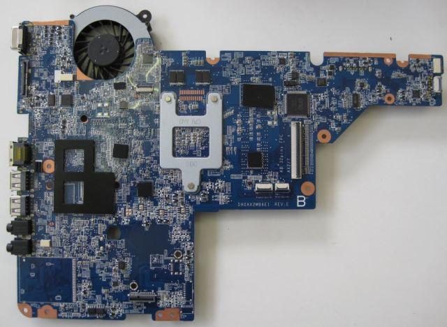 HP Compaq Presario CQ58 motherboard top