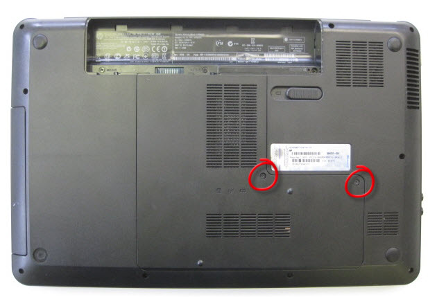 Remove memory and memory compartment cover