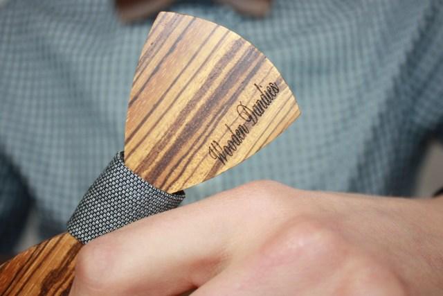 Holzfliegen von Wooden Dandies