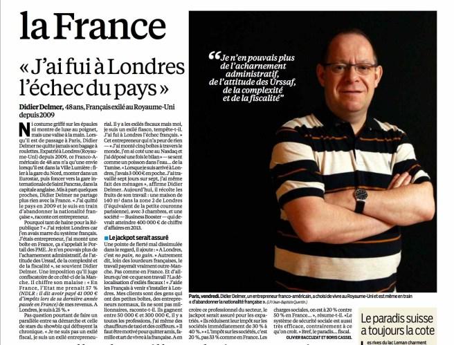 J'ai quitté l'échec de la France