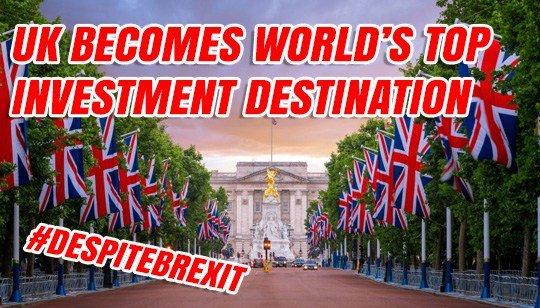 Investisseurs étrangers : Le UK coiffe les USA sur le poteau