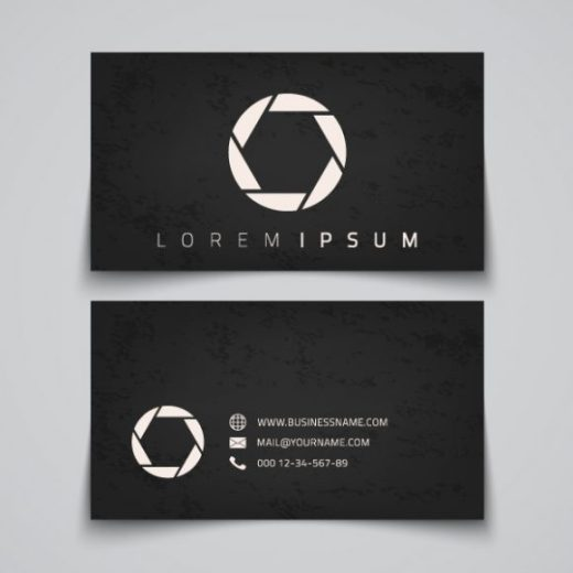 business-card-template-dark