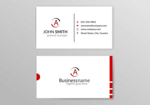 red-accent-free-vector-business-card-580x406