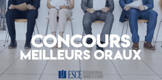 Concours Meilleurs Oraux Postbac 2019 ESCE