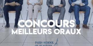 Concours Meilleurs Oraux Postbac 2019 Paris SB