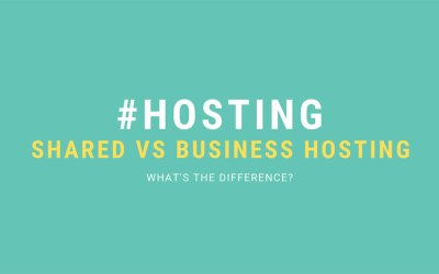What is the difference between web hosting and business hosting?