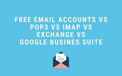 Free vs paid email – what is the difference?