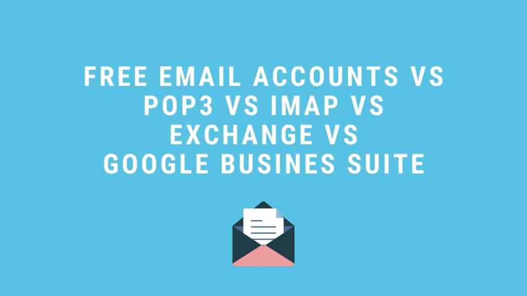 which email account is the right one for me?