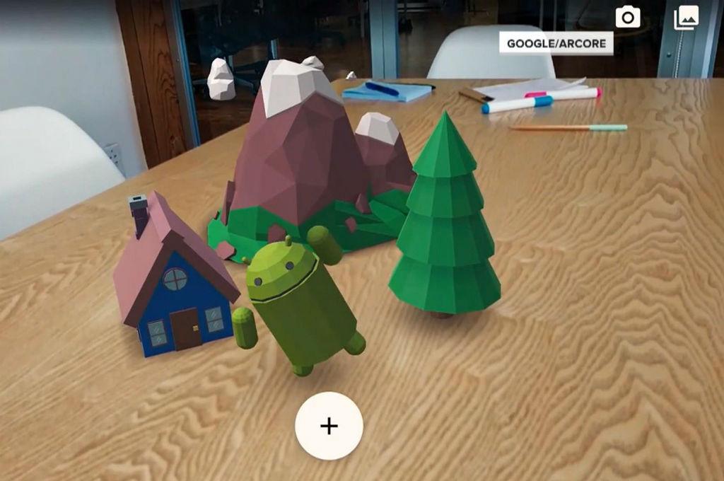 Google ARCore, realidade aumentada