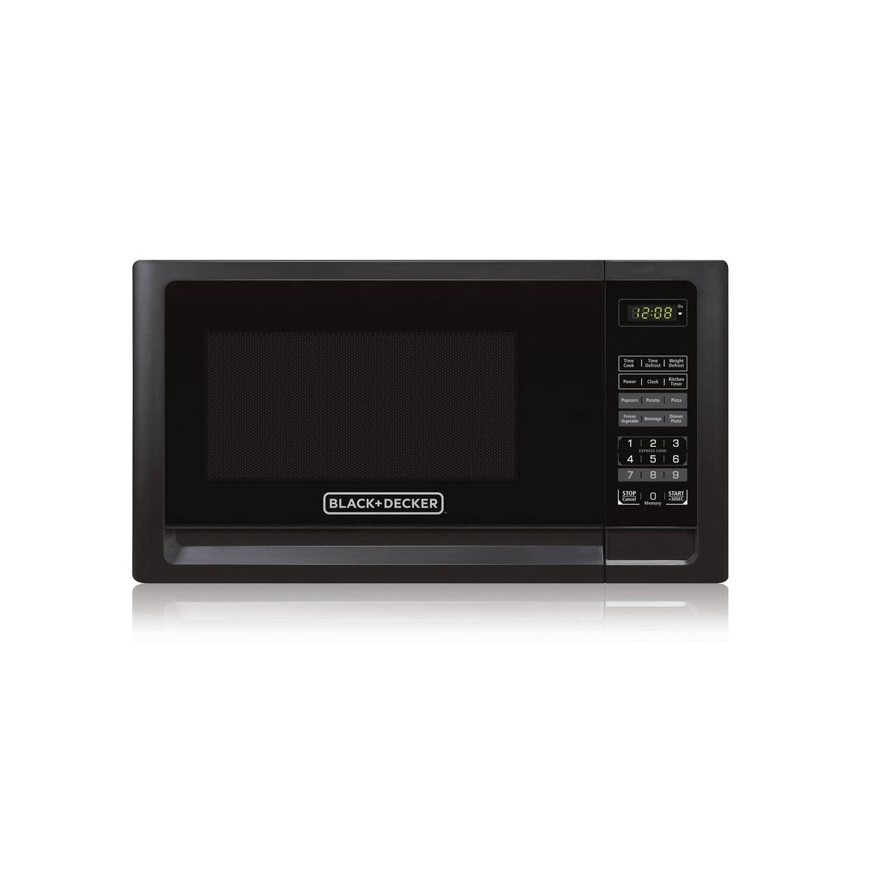 black decker 1 1 microwave oven