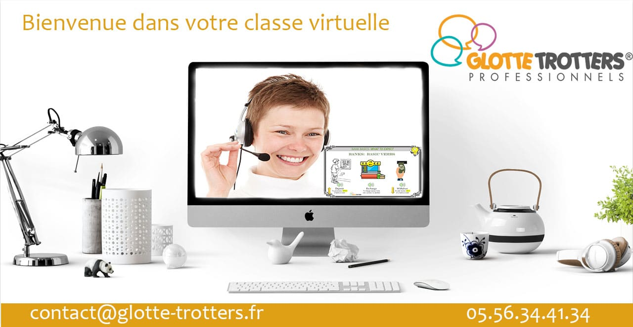 classes virtuelles d'anglais professionnel
