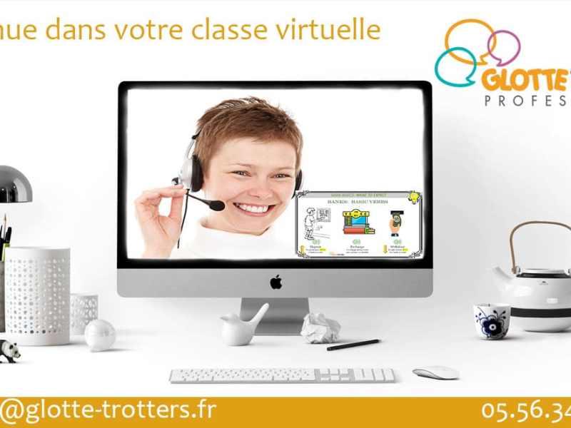 classes virtuelles d'anglais professionnel