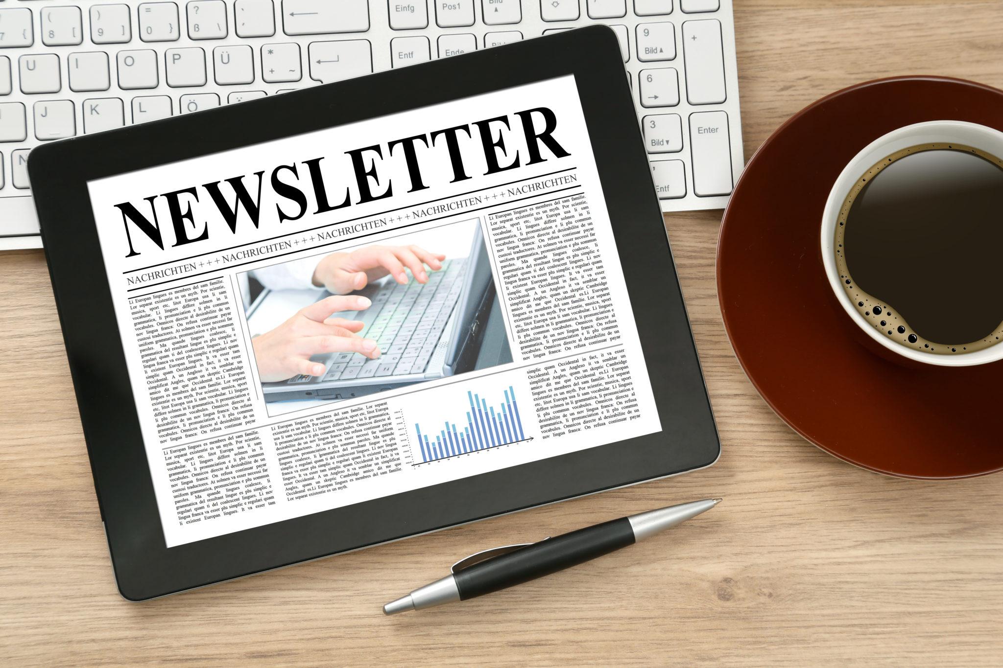 10 étapes essentielles afin de créer une newsletter
