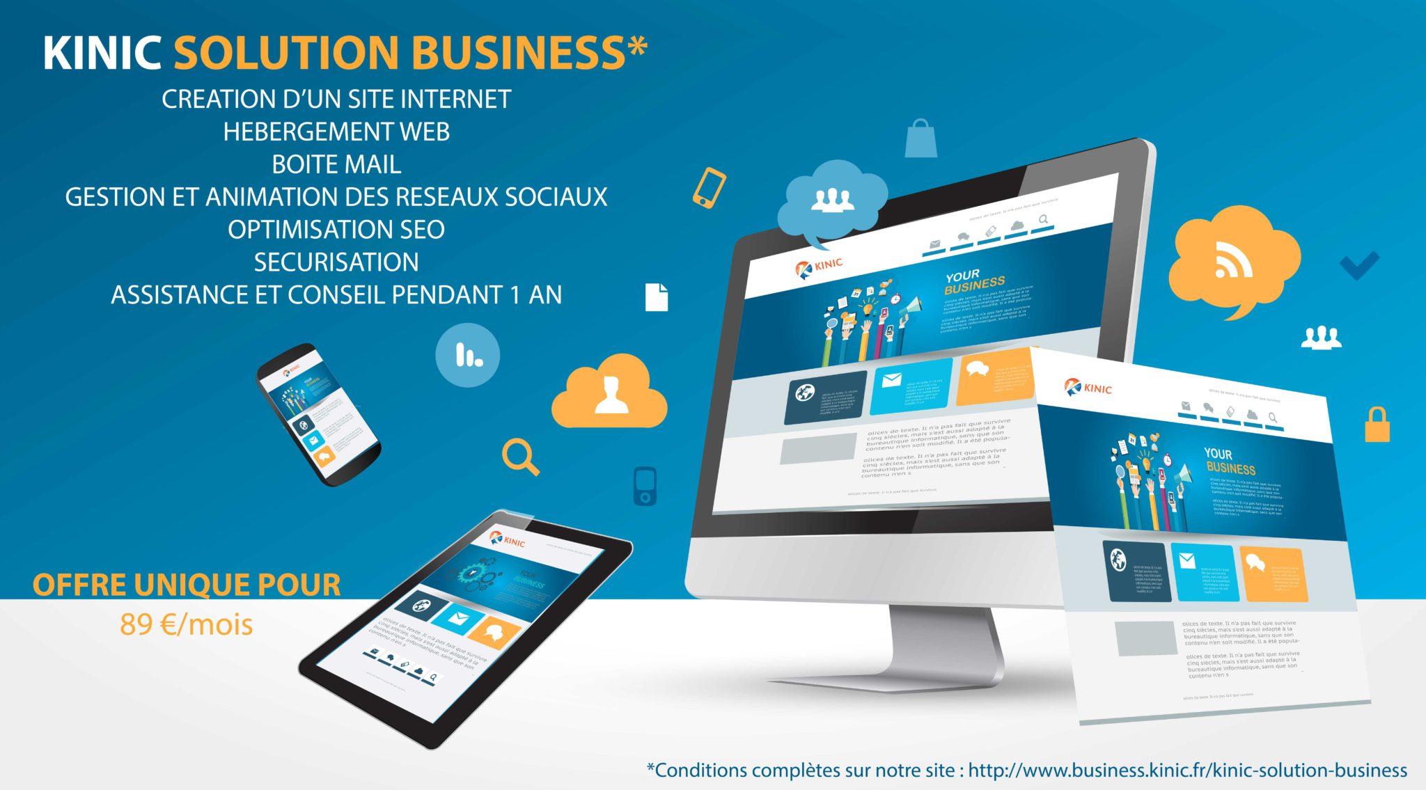 Kinic Business Solution, la dernière nouveauté de l'agence Kinic