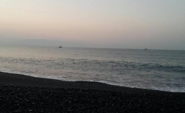2015年9月、駿河湾(静岡)のルアーフィッシンング(ショア)、富士川河口、一本松周辺、木負で釣りしてみた。釣果は?