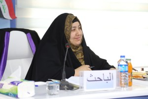 Read more about the article جانب من مناقشة طالبة الماجستير كميلة عبد الواحد هادي