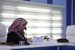Read more about the article جانب من مناقشة الطالبة شيماء هادي