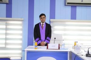 جانب من مناقشة طالب الدبلوم العالي احمد يحيى جودة