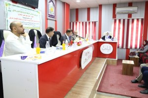 Read more about the article جانب من مناقشة الطالبة ابتهال احمد عبد عون