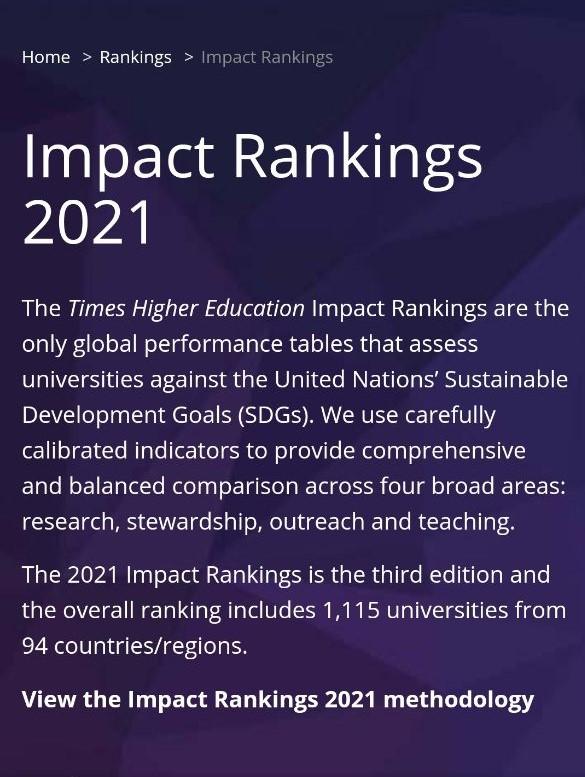 Read more about the article جامعة كربلاء ضمن تصنيف امباكت البريطاني العالمي    THE World University Ranking