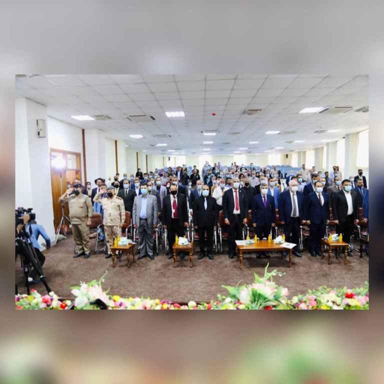 افتتاح مؤتمر كلية الإدارة والاقتصاد الخامس عشر في جامعة كربلاء