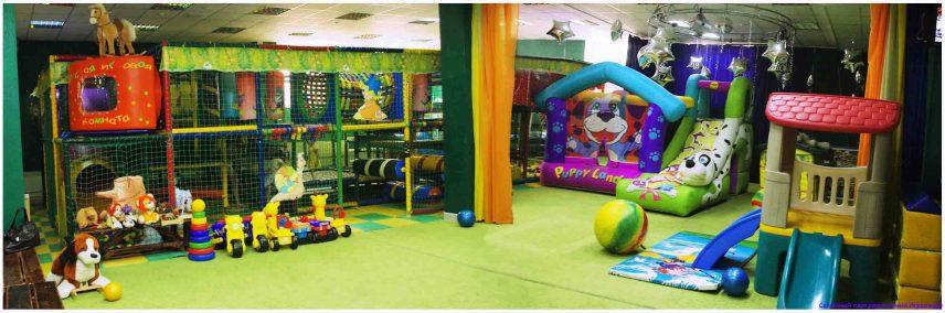 Понарама детской игровой комнаты
