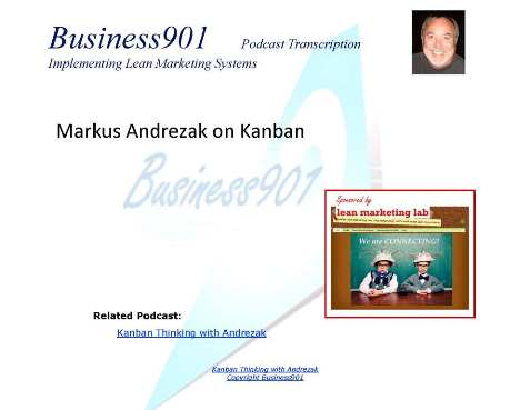 Markus Andrezak on Kanban