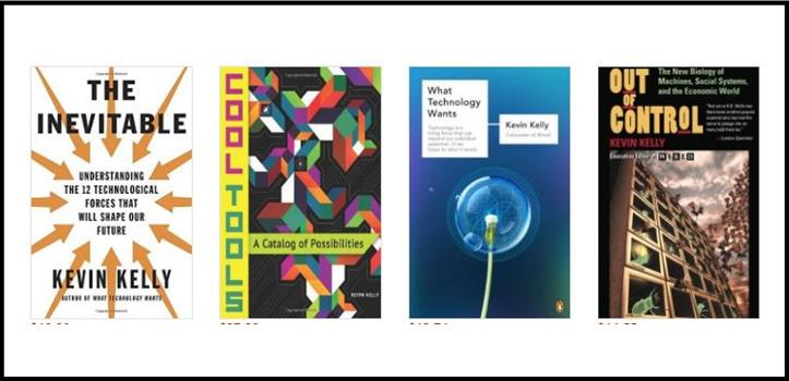 Kevin Kelly books