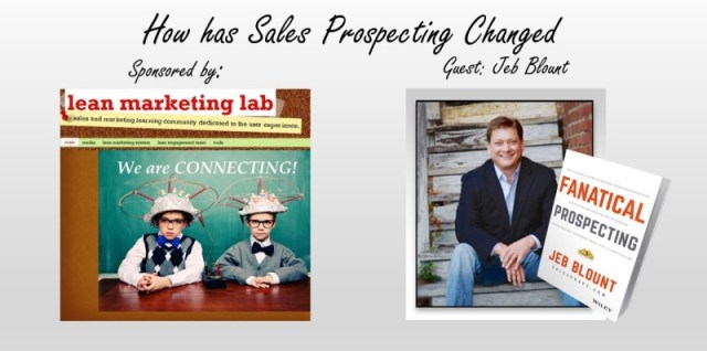 How has Sales Prospecting Changed