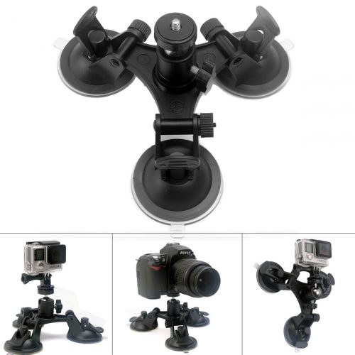 The Fantaseal Tri-Cup Camera Suction Mount-DSLR Camera Stabilizers & Gimbals