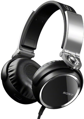 The Sony MDRXB800 Extra Bass Headphones- best over-ear headphones