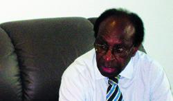 Western Province Governor Dr Bob Danaya