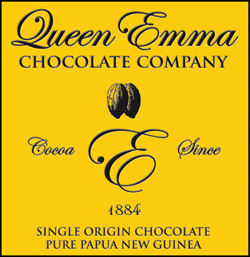 The Queen Emma chocolate brand is building on PNG's excellent reputation as a producer of full-flavoured cocoa.