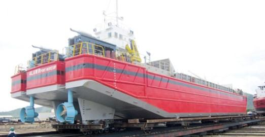 AkzoNobel provides anti-corrosive paint to PNG's Dockyard. Credit: AkzoNobel