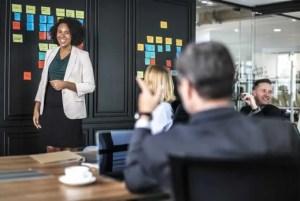 Business Analyst using a Kanban Board