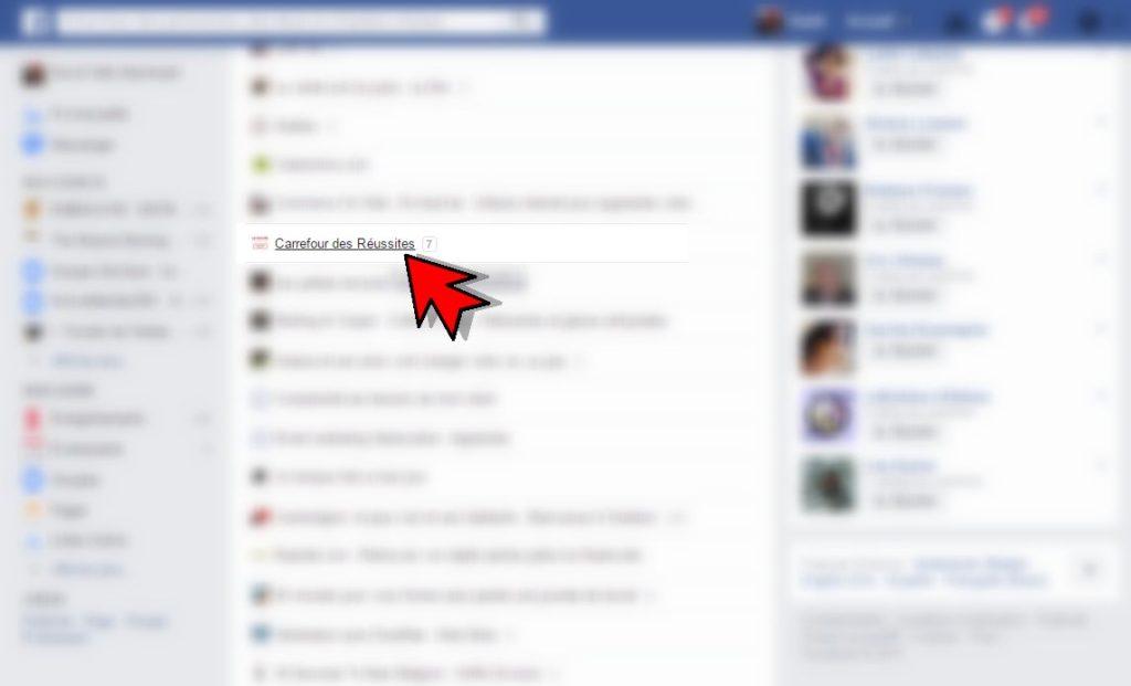 RDV sur votre page Facebook