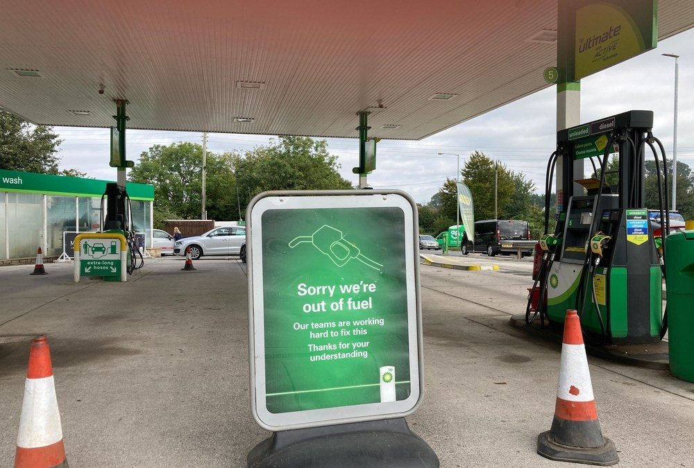 British Gas Stations Caught Short Without Drivers