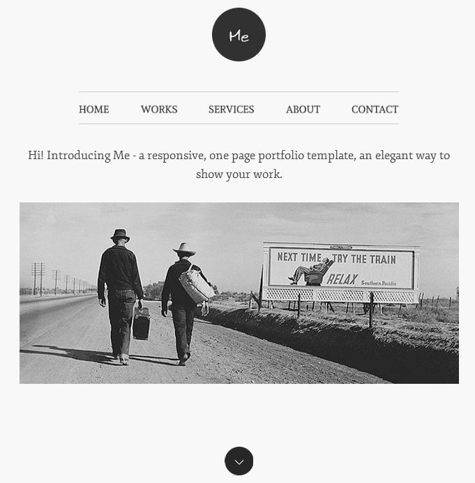me-wordpress-portfolio-theme