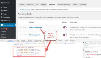 WooCommerce: Disable Payment Method for Specific Category