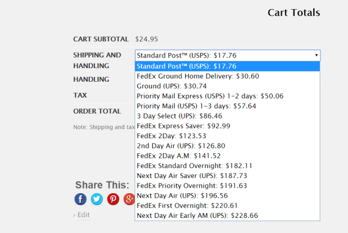 Sort shipping costs from low to high in WooCommerce
