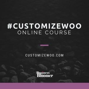 #Customizewoo