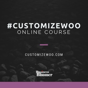 #Customizewoo