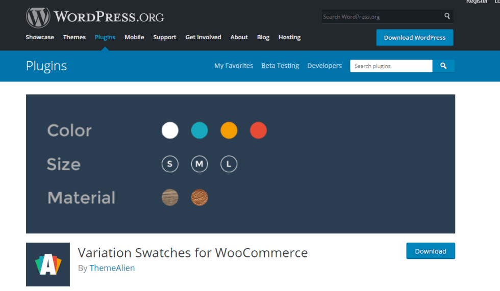10 wordpress plugins to improve woocommerce product variations.