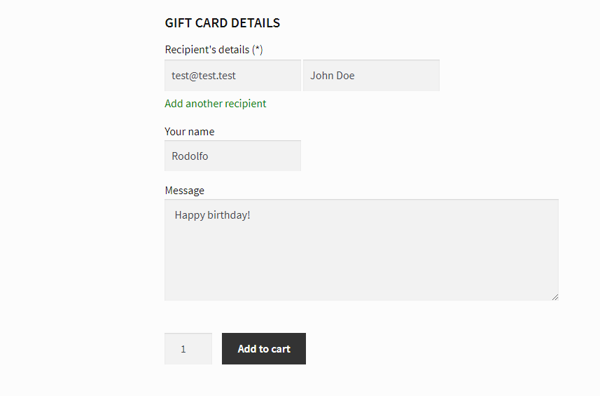 How Gift Do Woocommerce You Vouchers Cards In Sell