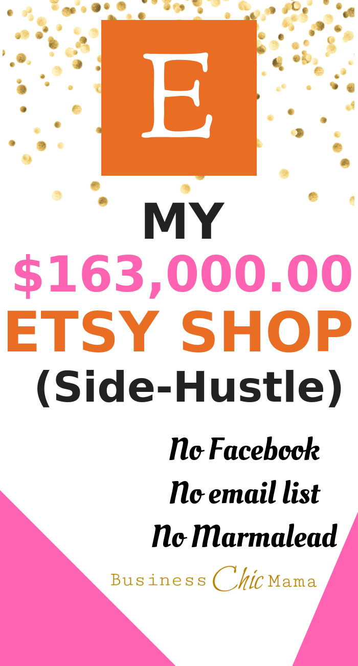 How To Make Money On Etsy Side-hustle. Work From Home.
