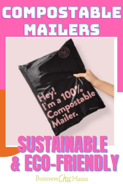"Unique ""Compostable"" & Sustainable Packaging For Your Creative Business."