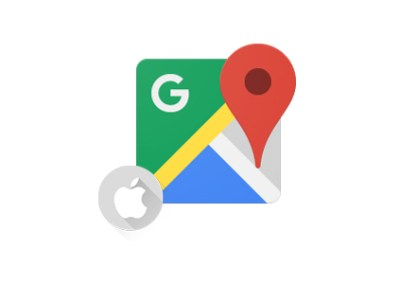 """""""Add a stop"""" to your route on Google Maps for iOS"""